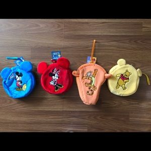 Mickey and friends play set. Bag with mini plush